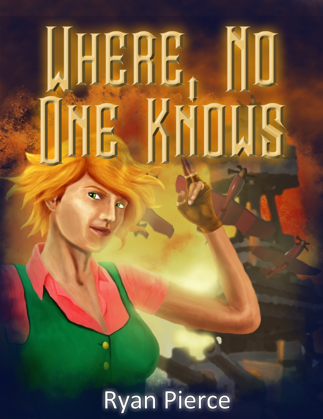 Book cover, concept art